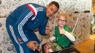 Ajax bezoekt VUmc Kinderstad