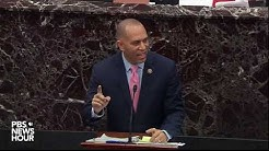 WATCH: Impeachment witnesses could be called quickly, Jeffries argues | Trump impeachment trial