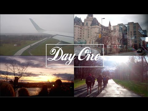 Quebec Trip Day 1 || Planes, Buses and Ottawa