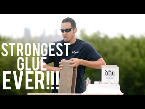 THE BEST GLUE YOU WILL EVER USE !!!