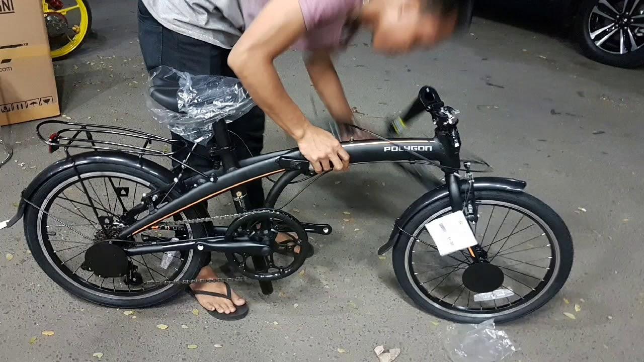Sepeda Lipat Polygon Urbano 3 ⭐⭐⭐⭐⭐ Review Cara Melipat ...