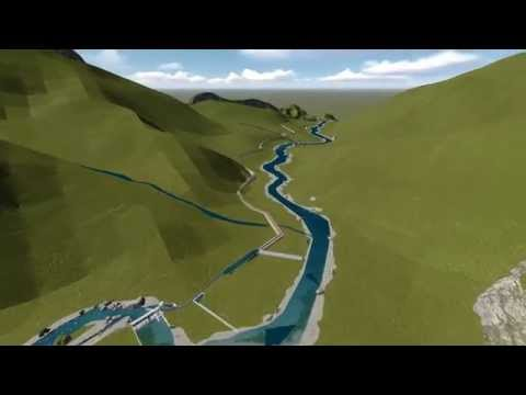HYDRO POWER 3D ANIMATION OF , KHOTANG