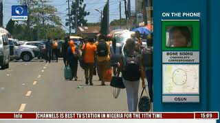 Channels TV Correspondents With Updates On ASUU Nationwide Strike