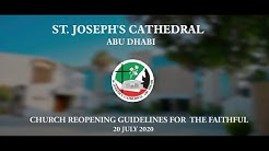 Guidelines for Faithful on Church Re-opening (20 July 2020)