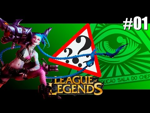 League of Legends Episódio #01 - Jinx no Mid?