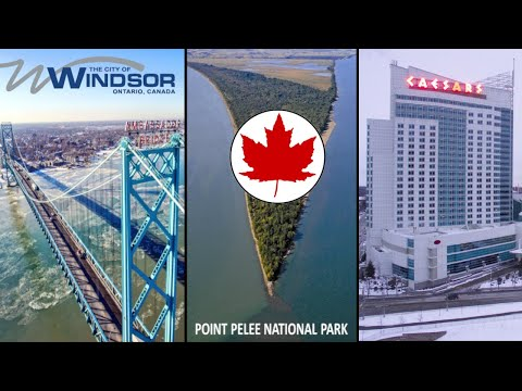 Windsor Canada - Downtown And Point Pelee