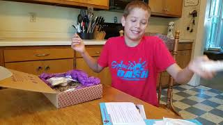 Unboxing Baketivity Monthly Subscription Box