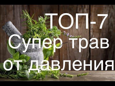 ТОП 7 супер трав от давления ,как лечить гипертонию травами..Доверяй Но проверяй