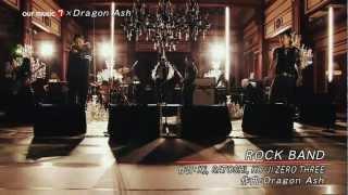 Dragon Ash feat. SATOSHI, KO-JI ZERO THREE / ROCK BAND R.I.P. IKUZO...