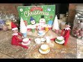 Elf on the shelf have a tea party