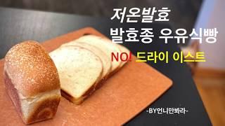 [No 드라이 이스트] '저온발효' 발효종 우유식빵