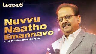 Nuvvu Naatho Emannavo | LEGENDS Live Concert | SPB | 11.2 Digital