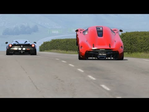 Koenigsegg Regera vs Ferrari LaFerrari at Highlands