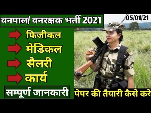 राजस्थान वनपाल, वनरक्षक पेपर, मेडीकल, फिजीकल से संबंधित सम्पूर्ण जानकारी