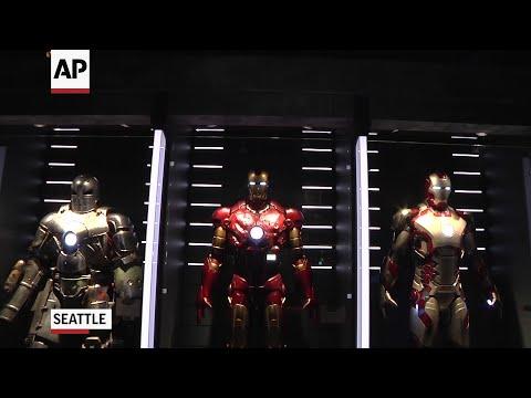 New Marvel exhibit shows nexus of movies, comics