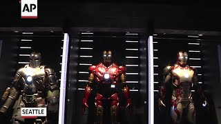 New Marvel exhibit shows nexus of movies, comics