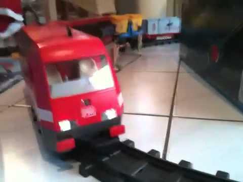 Playmobil rc train youtube - Train playmobil ...