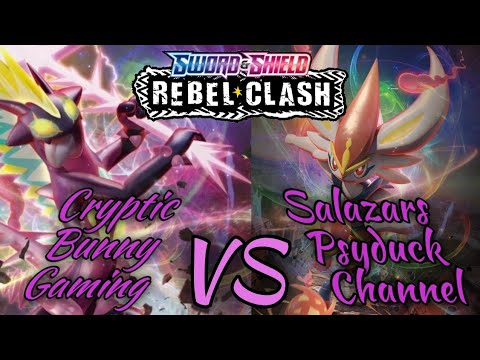Cryptic Bunny Gaming VS Salazars Psyduck Channel