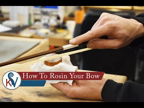 How To Rosin