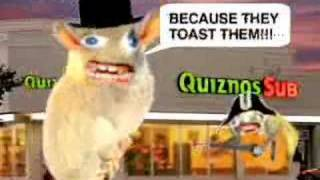 Quiznos Spongmonkeys We Love The Subs ad