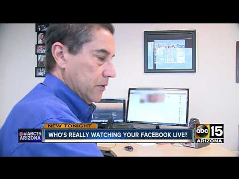 How to see who has viewed your facebook live videos