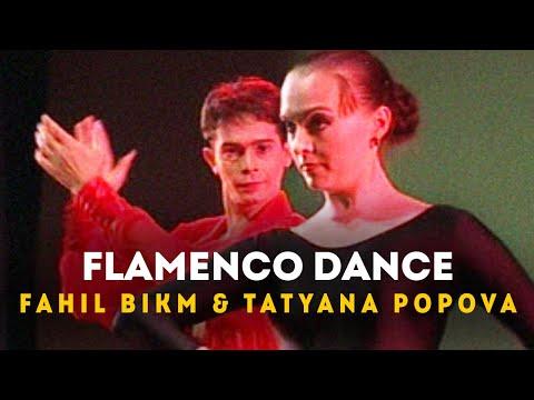 Flamenco Dance - Fahil Bikm & Tatyana Popova, Music Academy, Chennai. (2002)