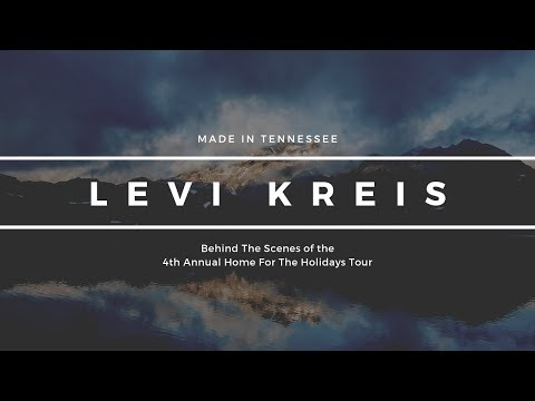 Made in Tennessee - Home For The Holidays Tour 2018 w/ Levi Kreis - Behind The Scenes