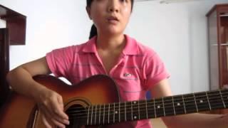 Cầm tay nhau hát - Guitar cover - Khánh Vy