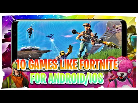 Top 10 Games Like Fortnite For Android And IOS | 10 Best Android Games Like Fortnite 2018