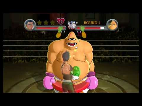 Punch-Out!! (Wii) - King Hippo (Contender) in 46.94 (Tied World Record)