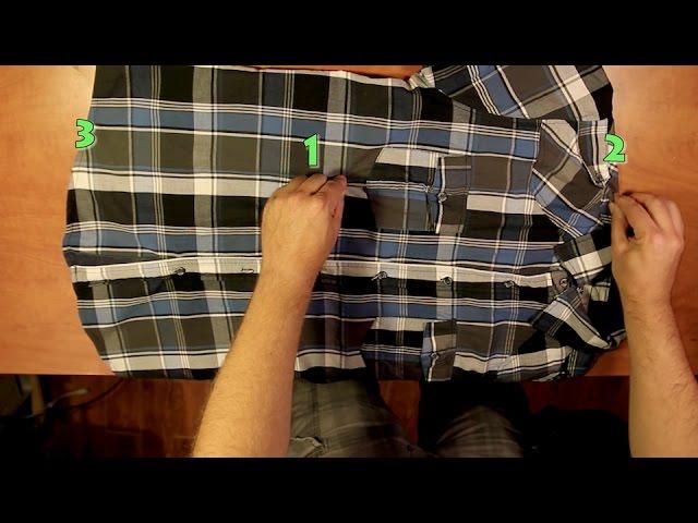 Cómo Doblar Camisa En Sólo 2 Segundos Youtube