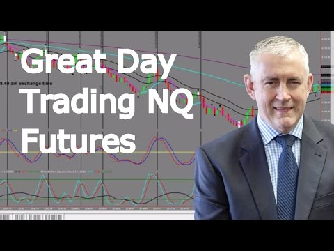 Day Trading NQ Futures  Great Trading Day!