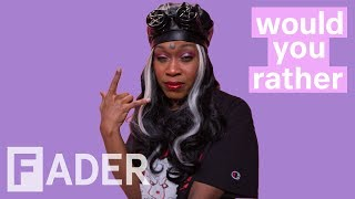 "BbyMutha chooses to marry Joel Osteen and more | ""Would You Rather"" Season 1 Episode 4"