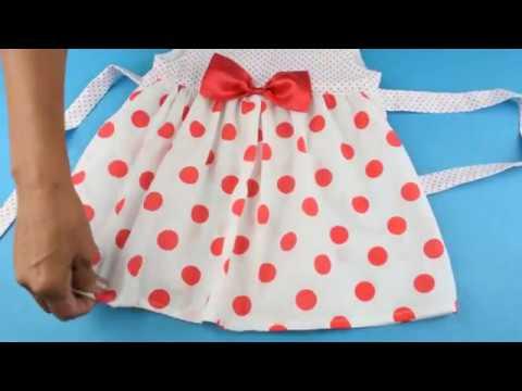 Como Hacer Vestido Para Niña Facil Y Rapido