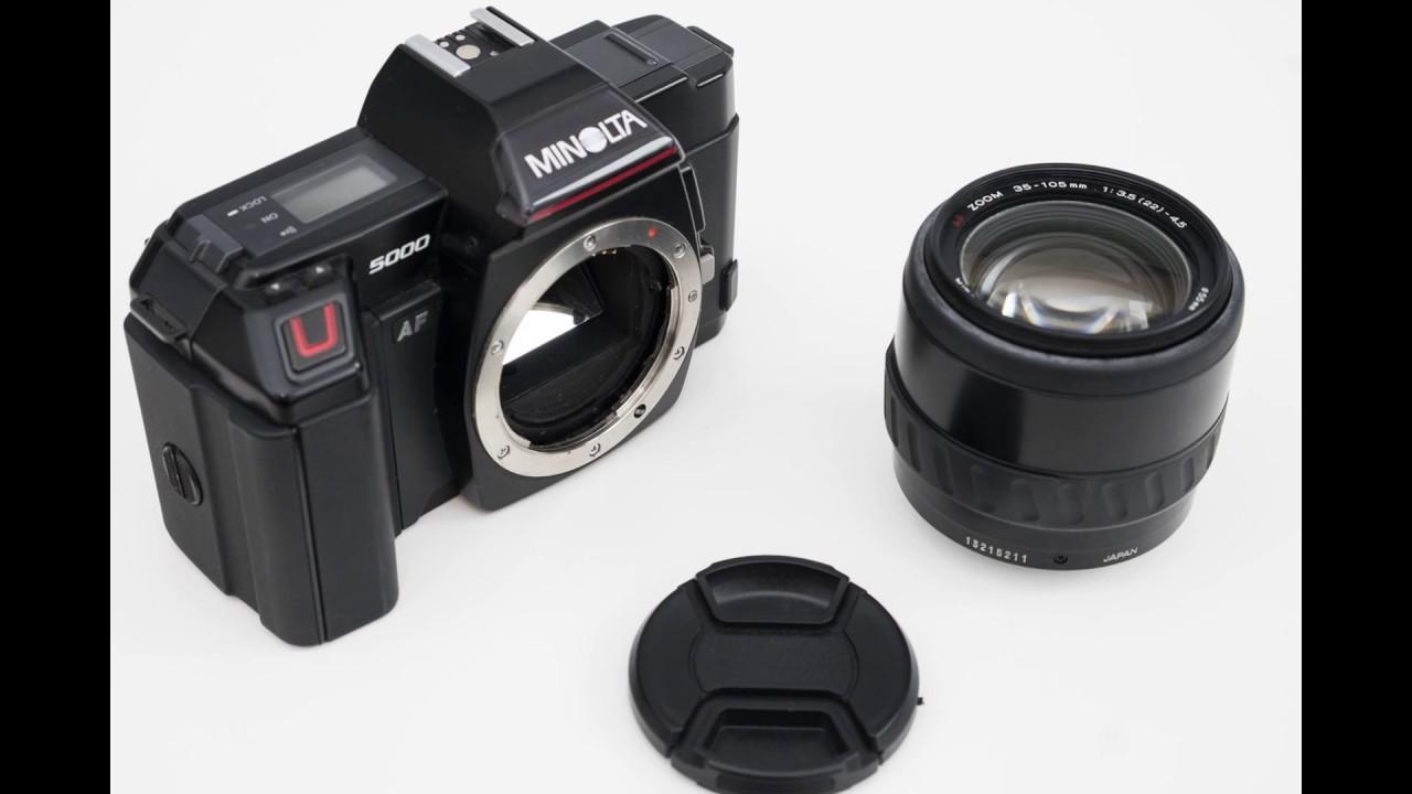 Camera tech data for Minolta Dynax 5000i