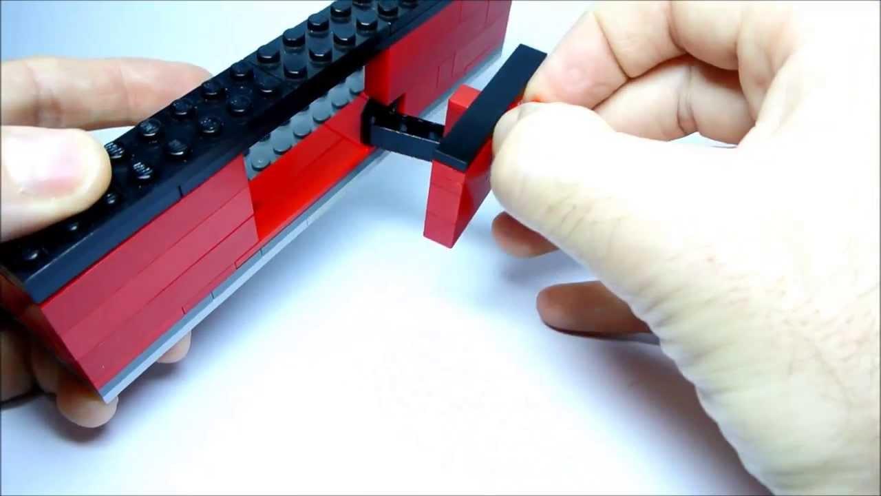 Lego System Sliding Doors For Bus Or Train Youtube