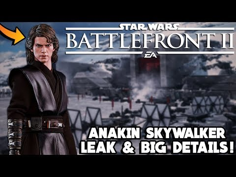 BIG ANAKIN SKYWALKER NEWS! Updated Animation Gameplay, All Emotes and More! Star Wars Battlefront 2 thumbnail