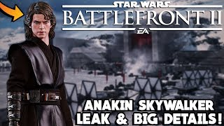 BIG ANAKIN SKYWALKER NEWS! Updated Animation Gameplay, All Emotes and More! Star Wars Battlefront 2