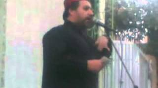 Mudassir Hamdani reciting Naat infront of a Locked Mosque on 10th Moharram