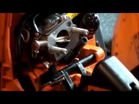 Stihl Chainsaw Fuel Line Repair