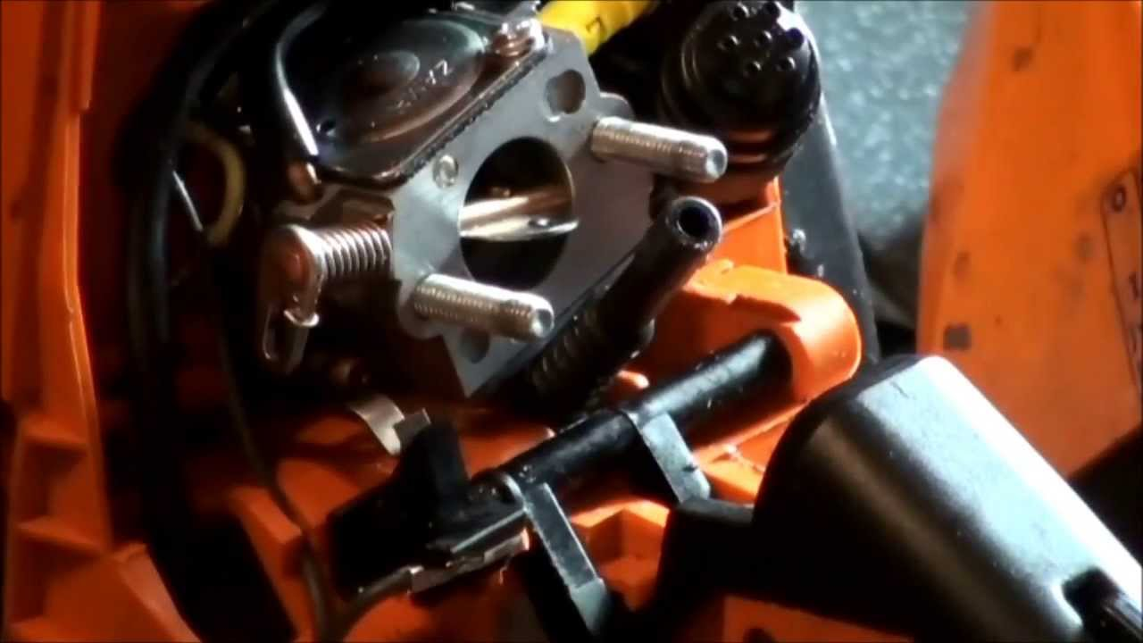 Stihl Chainsaw Fuel Line Repair
