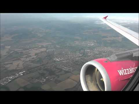 Wizzair Airbus A320-232 | London Luton to Prague Ruzyne *Full Flight*