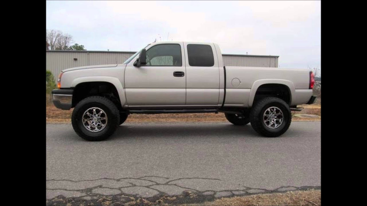 2004 chevrolet silverado 1500 lt lifted truck youtube. Black Bedroom Furniture Sets. Home Design Ideas
