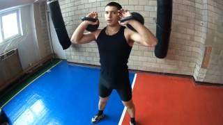 Упражнения с гирями для бойцов/Exercise with kettlebells for fighters