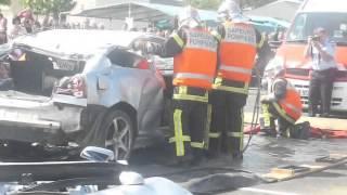 Manoeuvre accident pompier de ligné