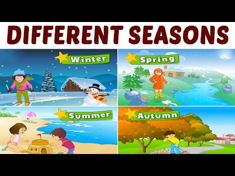 Learn Different Seasons For Kids | Learning Seasons For ...