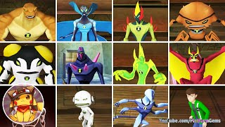 BEN 10 Alien Force Vilgax Attacks - All Alien Transformations [1080p]