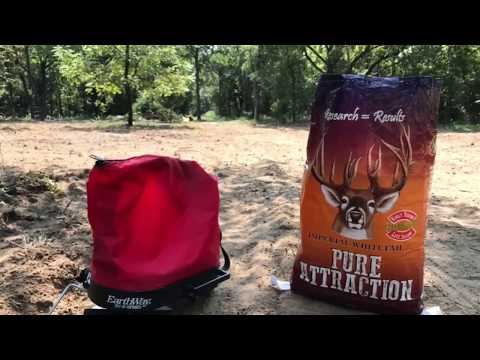 Whitetail Institute - Pure Attraction vs sandy soil - part 2
