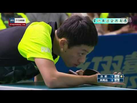 2016 China Warm-up matches for Rio Olympics: XU Xin - LIN Gaoyuan [HD] [Full Match/Chinese]