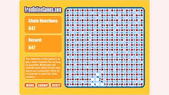 How to play The Chain Reaction game | Free online games | MantiGames.com
